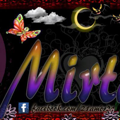 Portadas para tu Facebook con tu nombre, Mirta