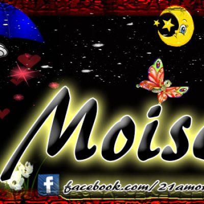 Portadas para tu Facebook con tu nombre,Moises