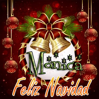 Feliz Navidad !!! Monica