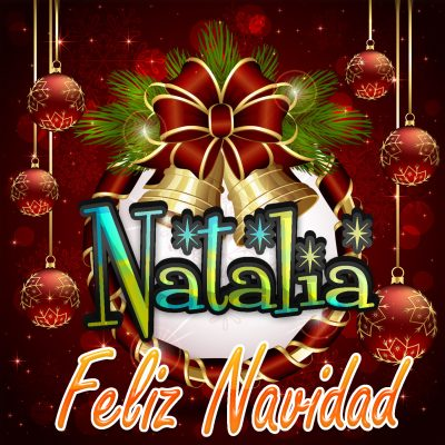 Feliz Navidad !!! Natalia