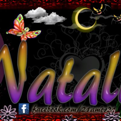 Portadas para tu Facebook con tu nombre, Natalia