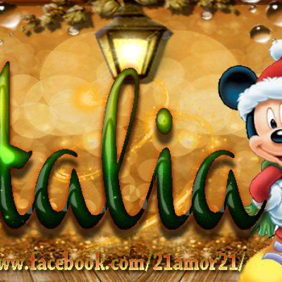 Portadas de Navidad con tu Nombre, de MICKEY,Natalia!!!