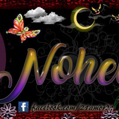 Portadas para tu Facebook con tu nombre, Nohelila
