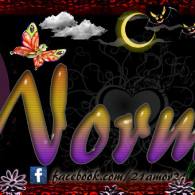 Portadas para tu Facebook con tu nombre, Norma