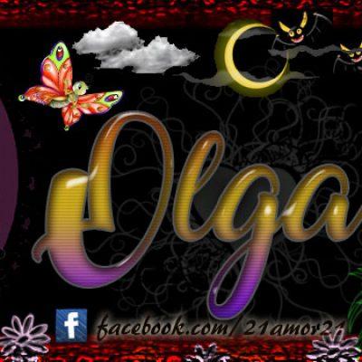 Portadas para tu Facebook con tu nombre, Olga
