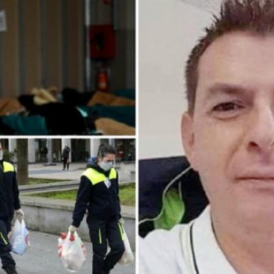 Conoce la historia de Diego Bianco, paramédico italiano que murió tras ayudar a centenares de víctimas del coronavirus