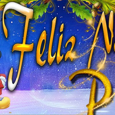 Portadas de Navidad con tu Nombre,Paola