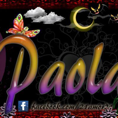 Portadas para tu Facebook con tu nombre,Paola