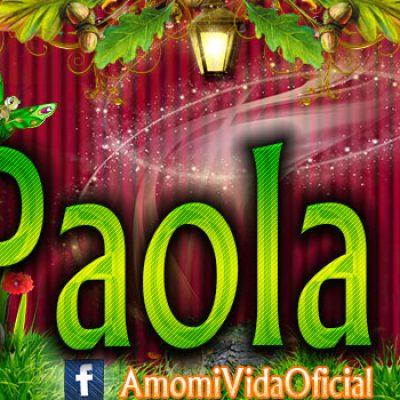 Nuevas Portadas para tu Facebook con tu nombre de Minnie y Mickey,Paola
