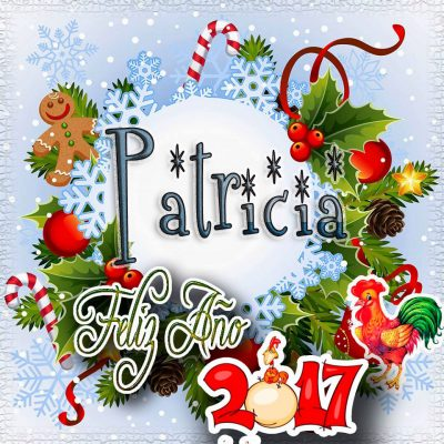 Lindas tarjetas para perfil con tu nombre 2017!!! Patricia