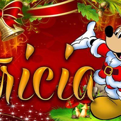 Portadas de Navidad con tu Nombre, de MICKEY, Patricia!!!