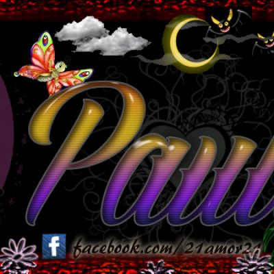 Portadas para tu Facebook con tu nombre, Paula