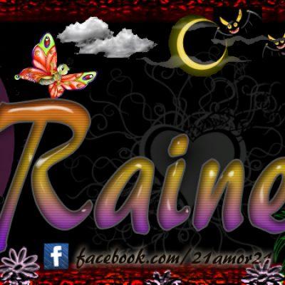 Portadas para tu Facebook con tu nombre, Rainerys