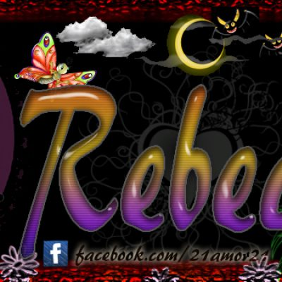 Portadas para tu Facebook con tu nombre, Rebeca
