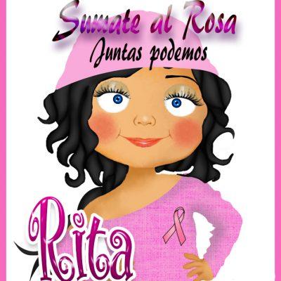 19 de Octubre Día mundial contra el Cancer.Rita