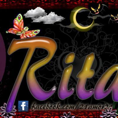 Portadas para tu Facebook con tu nombre, Rita