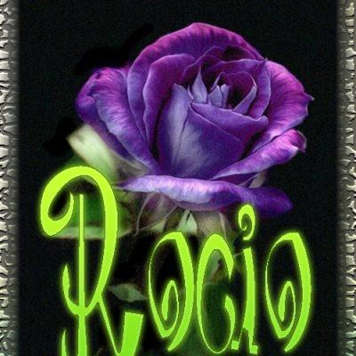 Nombre en Rosas,Rocío