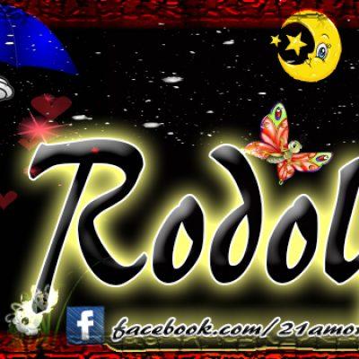 Portadas para tu Facebook con tu nombre, Rodolfo