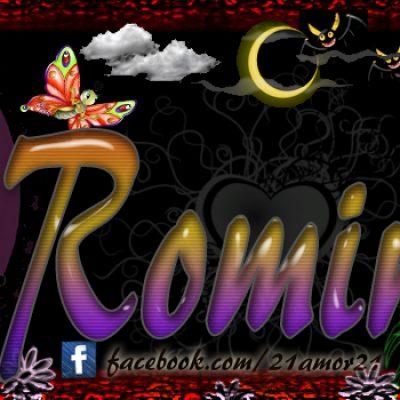 Portadas para tu Facebook con tu nombre, Romina