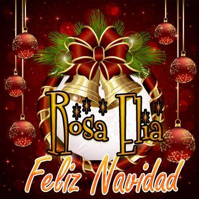 Feliz Navidad !!! Rosa Elia