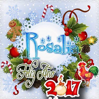 Lindas tarjetas para perfil con tu nombre 2017!!! Rosalia