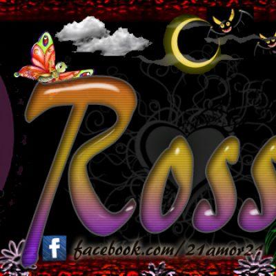 Portadas para tu Facebook con tu nombre, Rossy
