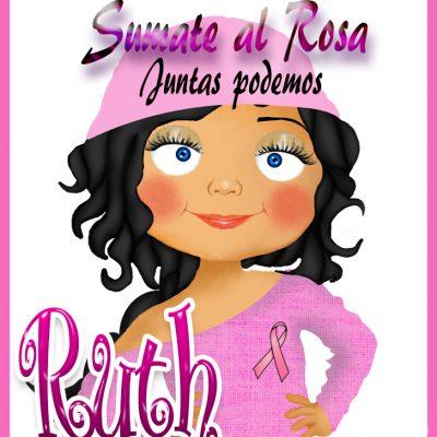19 de Octubre Día mundial contra el Cancer.Ruth