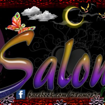 Portadas para tu Facebook con tu nombre, Salomé
