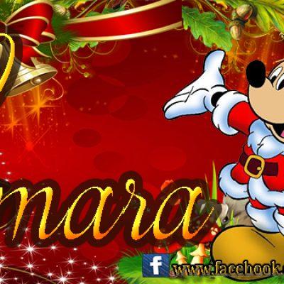 Portadas de Navidad con tu Nombre, de MICKEY,Samara!!!