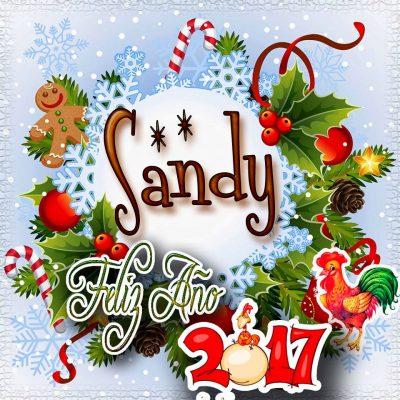 Lindas tarjetas para perfil con tu nombre 2017!!! Sandy