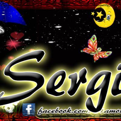 Portadas para tu Facebook con tu nombre,Sergio
