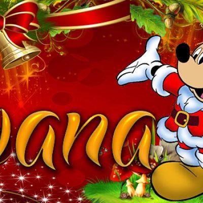 Portadas de Navidad con tu Nombre, de MICKEY,Silvana!!!