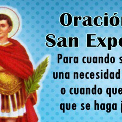Oración a San Expedito para cuando se tiene una necesidad urgente o queremos que se haga justicia