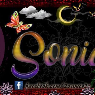Portadas para tu Facebook con tu nombre, Sonia