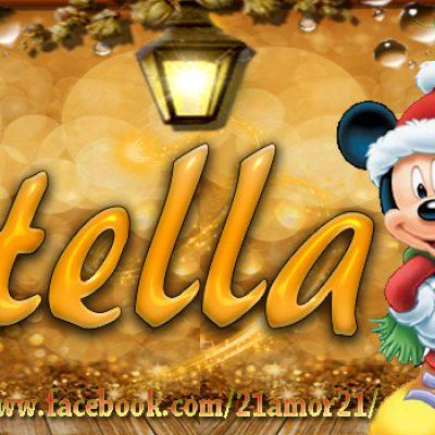 Portadas de Navidad con tu Nombre, de MICKEY, Stella!!!