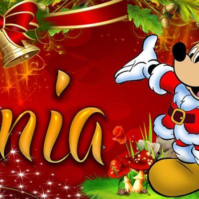 Portadas de Navidad con tu Nombre, de MICKEY,Tania!!!