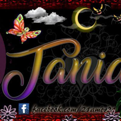 Portadas para tu Facebook con tu nombre, Tania