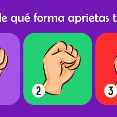 ¿Cómo aprietas tu puño?