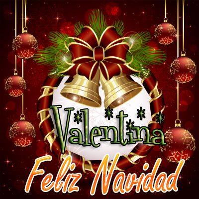 Feliz Navidad !!! Valentina