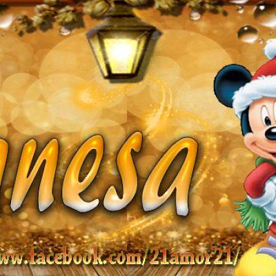Portadas de Navidad con tu Nombre, de MICKEY, Vanesa!!!