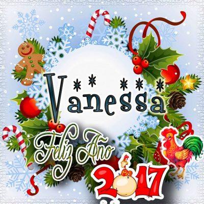 Lindas tarjetas para perfil con tu nombre 2017!!! Vanessa