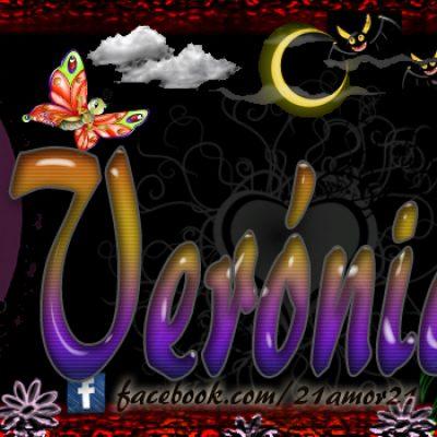 Portadas para tu Facebook con tu nombre, Veronica