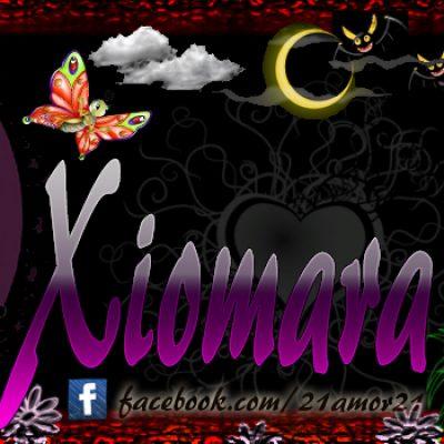 Portadas para tu Facebook con tu nombre, Xiomara Maite