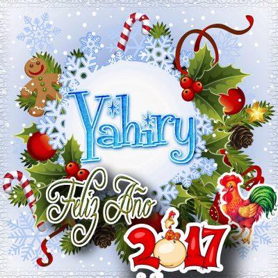 Lindas tarjetas para perfil con tu nombre 2017!!! Yahiry