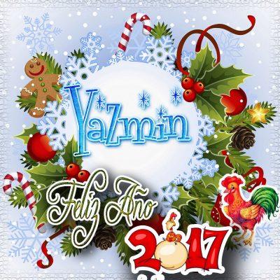 Lindas tarjetas para perfil con tu nombre 2017!!! Yazmin