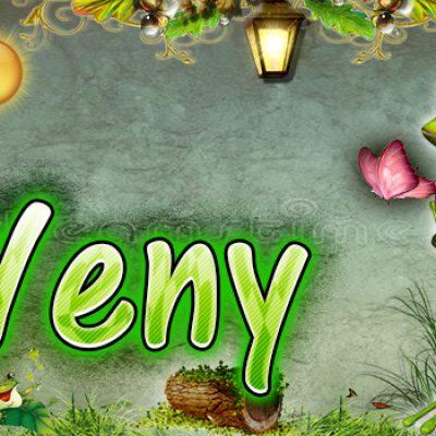 Portadas para tu Facebook de la Rana con tu nombre,Yeny