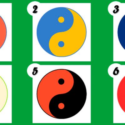 El test del Yin Yang.