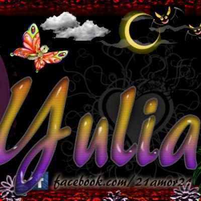Portadas para tu Facebook con tu nombre, Yuliany