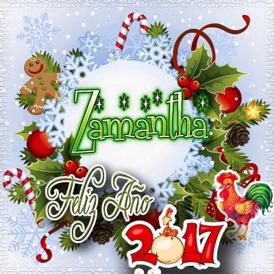 Lindas tarjetas para perfil con tu nombre 2017!!! Zamantha