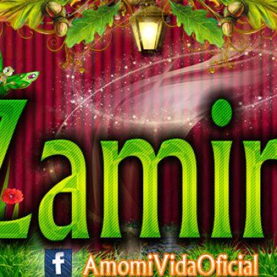 Nuevas Portadas para tu Facebook con tu nombre de Minnie y Mickey,Zamira